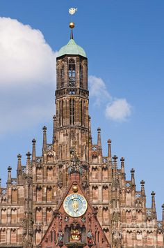 ✯ Frauenkirche Church of our lady, Nuremberg, Germany