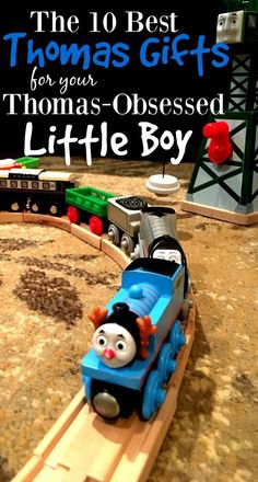 These Thomas the Train gifts are perfect for any train obsessed little kid. From Thomas shoes to train accessories, this list has you covered. #STEM #STEAM #ChristmasGiftsIdeas