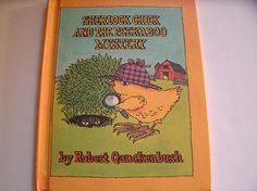 Sherlock Chick and the Peekaboo Mystery Robert Quackenbush Parent Magazine 1987