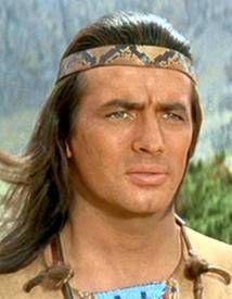 Pierre Brice als Winnetou