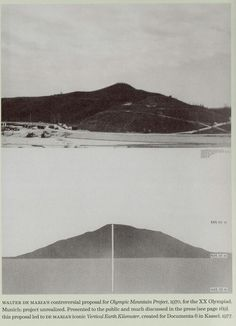 Walter De Maria - Olympic Mountain Project, 1972