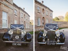 Arrive in style in a vintage Bentley or Rolls Royce (Bowcliffe Hall, Bramham, Wetherby, Leeds) | Yorkshire Wedding photography by www.colinmurdochstudio.com