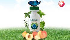 Spiralps - Swiss Spirulina Drink - RAW Spirulina - Fruits - Alpine Herbs - Organic - Cold pasteurized! HEALTHY DRINK - www.spiralps.ch