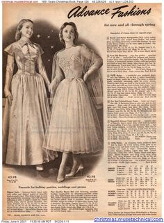 Fifties Fashion, Fifties Style, Vintage Fashion, Christmas Catalogs, Christmas Books, 50s Inspired Fashion, Retro Mode, Fashion History, Women's Fashion