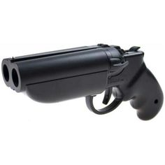 12 ga. Break action pistol.....I'd buy one.THIS will get them off your running boards, porch, etc!
