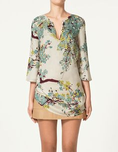 Great tunic - waiting for Zara to open their online store!