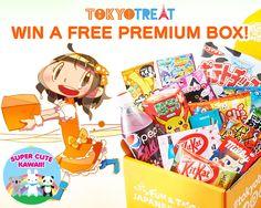 win a free premium box!  http://www.supercutekawaii.com/2016/07/tokyotreat-japanese-candy-box-giveaway-2/