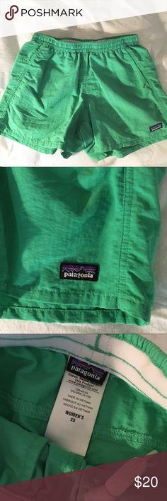 "Patagonia Baggies Shorts Green Patagonia Baggies Shorts, 5"" inseam. Only worn a few times Patagonia Shorts"