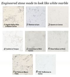 Countertops That Look Like White Marble Take Two