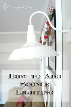 Wondering how to add sconce lighting to your home? I think most of us love that additional ambiance lighting and adding a great sconce is a perfect way to do so. We were lacking additional lighting in our family room without having to turn on the fan light which just loses that relaxed feel when... Read more