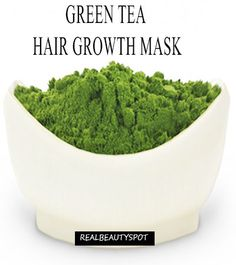 Green tea hair growth mask- beat an egg with 2 tbsp strong green tea. Part hair and apply mask. Let mixture stay for half an hour before you rinse and shampoo. Use three to four times per week to make hair stronger amd increase hair growth.