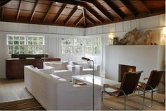 just a few great 'key' pieces render this a simple, relaxed yet stylish room...; Shake Country, Ca.