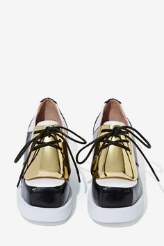 Jeffrey Campbell Galant Leather Oxfords - Shoes | Oxfords | Jeffrey Campbell