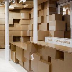 Deskontalia store in Donostia  by VAUMM inspiration exam 2013