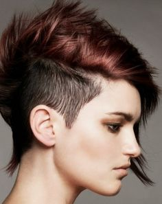 short hairstyles easy to maintain   ... you will easy to find boyfriend girlfriend short punk hairstyles