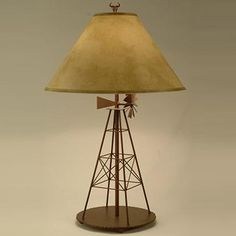 Windmill Table Lamp- At Rocky Mountain decor we take pride in finding the best in quality products.