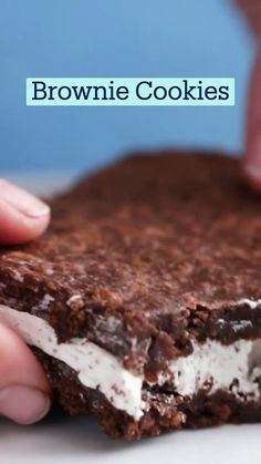 Brownie Recipes, Cookie Recipes, Dessert Recipes, Delicious Deserts, Yummy Food, Tasty, Fun Baking Recipes, Sweet Recipes, Dessert For Dinner