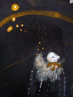 arte de Paola Zakimi #art #illustration #print #work #artwork #trabalho #ilustração #desenho #artista #noite #dark #escuro