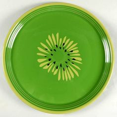 """Fiesta® Dinnerware Kiwi 15"""" Pizza Tray made by Homer Laughlin China Company 