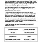 These cards can be used to compare any number of things. I use these cards to play several math games with my students. Instructions on how I use t...