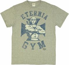 He Man Eternia Gym T Shirt - Use promo code HOLIDAY12 to save! ($19.88)
