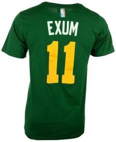adidas Men s Short-Sleeve Dante Exum Utah Jazz Player T-Shirt - Green XXL 8590c3837