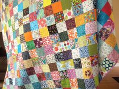 Love me a good patchwork quilt :) // beautiful :)