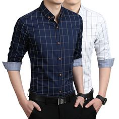 New Autumn Fashion Brand Men Clothes Slim Fit Men Long Sleeve Shirt Men Corduroy Casual Men Shirt Social Plus Size M-5xl Save 50-70% Casual Shirts