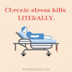 Chronic stress kills LITERALLY.  http://free3daydetox.com                                #injoy #injoynow