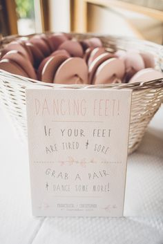 // Rustic Pink and Gold wedding stationery collection // Full range of matching stationery available from save the dates and invites to on the day items. Dancing feet sign for weddings By Grace and Bramble at rivervale barn
