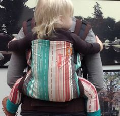 Canvas - Lil Tulips Exclusive 'Old Highway 8' TULA BABY CARRIER; March 2015
