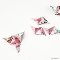 making-diy-3d-origami-wall-art.gif (640×640)
