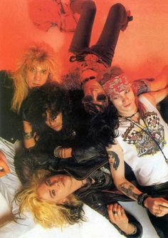 Guns N' Roses Photo shoot