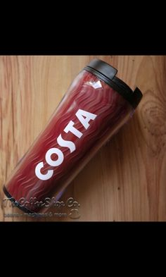 Costa Coffee plastic cup Costa Coffee, Beverages, Drinks, Coca Cola, Water Bottle, Wisdom, Plastic, Birthday, Drinking