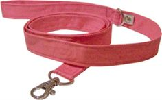 Eco Friendly Heritage Dog Leash - Coral Pink #fortailsonly Stacie Marshman, Founding Independent Handler, Microchip #FH100 www.fb.com/paradisepetboutique