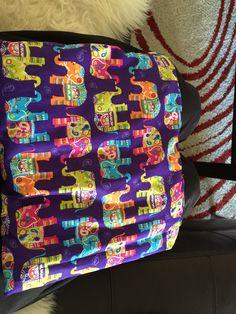 Mein Kirschkern-Amaranth Kissen für die Arbeit
