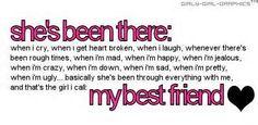 my best friend friendship quotes - Apna Talks Best Friend Qoutes, Love My Best Friend, Besties Quotes, Bestest Friend, Best Friends For Life, True Friends, Girl Quotes, Friends In Love, Bestfriends