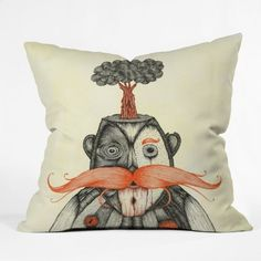 DENY Designs Duane Hosein The Immortal Doctor Throw Pillow, 16-Inch by 16-Inch by DENY Designs, http://www.amazon.com/dp/B008C6TQ0Y/ref=cm_sw_r_pi_dp_xiNpsb03YZP76
