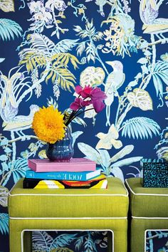 Hottest trends for 2019 Part Retro Pop Part 4 of Home Beautiful's 2019 Trend Forecast bursts through with a retro decorating vibe and shows us just how to decorate with bold colour and pattern Retro Pop, Retro Decorating, Trends, Bold Colors, House Colors, Beautiful, Disney Princess, Disney Characters, Hot