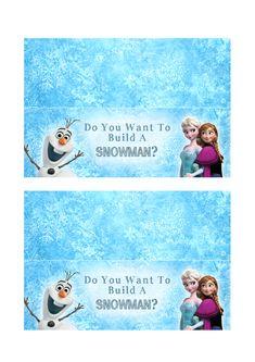 Do You Wanna Build A Snowman DIY Snowman Kit   Printable