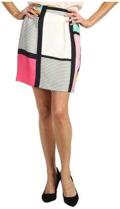 Kate Spade Barry Skirt Mondrian (Multi Mondrian) - Apparel on shopstyle.com