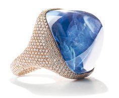 Rosamaria G Frangini   High DeepBlue Jewellery   Chantecler Capri gioielli di lusso in zaffiri e turchesi