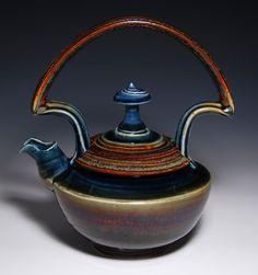 James Diem Ceramics.  Tea Pot.