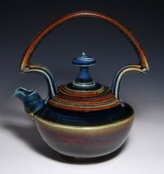 James Diem Ceramics | gorgeous tea pot