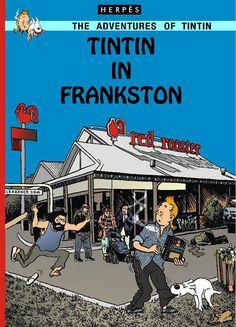 Tintin in Frankston by gtamulti, via Flickr