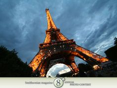"Photo of the Day - January 10, 2012: ""Eiffel Tower at dusk."" Lauren McClanahan (Bellingham, WA). Photographed July 2010, Paris, France."