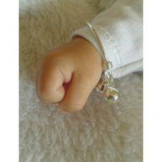 sterling silver baby bells bracelet van BeeDelighted Jewelry op DaWanda.com