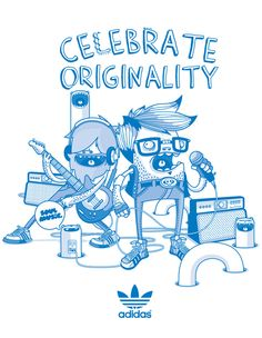 Adidas Original by Julian Ardila, via Behance