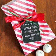 Favorite Things Free Printable Tag| Spoonful