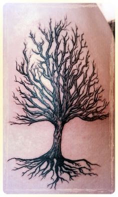 """With the words """" Deep roots are not reached by the frost"""""""
